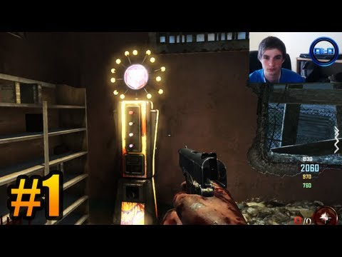 """EPIC GRIEF MODE!"" - Zombies w/ Ali-A #1 - Black Ops 2 ""Mob of the Dead"" Gameplay (Cell Block)"