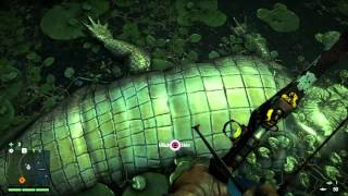 getlinkyoutube.com-Far Cry 4 - Crocodile/Alligator hunting locations!!! Crocs 101 where have you been Mr. Croc