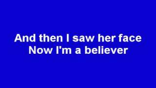 getlinkyoutube.com-Smash Mouth - I'm a Believer (Lyrics) (Shrek)