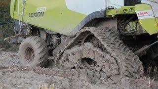 getlinkyoutube.com-Extreme conditions Claas Lexion