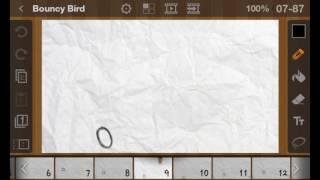 Flipaclip bouncy bird