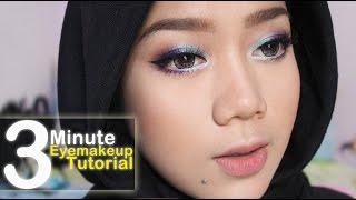 getlinkyoutube.com-3 Minute Eye Makeup Tutorial | Cheryl Raissa