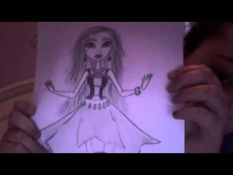 monster high drawings for wookiewarrior23