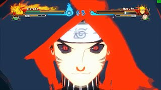 getlinkyoutube.com-Naruto Ultimate Ninja Storm Revolution (60 FPS) Hokage Menma Moveset Mod Gameplay (PC)