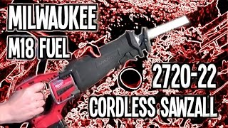 Milwaukee M18 FUEL 2720-22 Cordless Sawzall