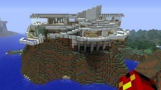getlinkyoutube.com-【minecraft】マイクラでアイアンマンの家を作ってみた【IronMan】