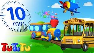 getlinkyoutube.com-TuTiTu Specials   Transportation Toys for Children   School Bus, Train and More!