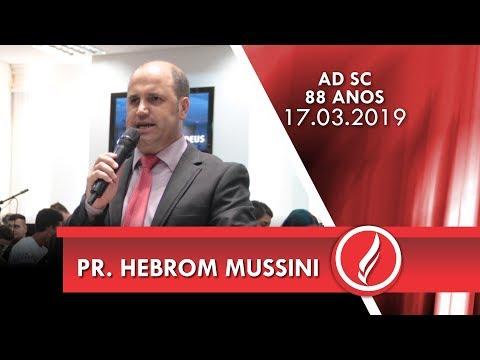 Pr. Hebrom Mussini | Você é um escolhido | 1 Pe 2.9  | 17 03 2019