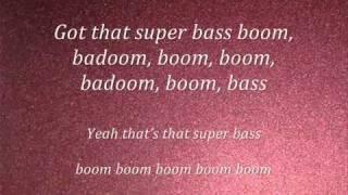 getlinkyoutube.com-Nicki Minaj-Super Bass(lyrics) 2011(NEW)
