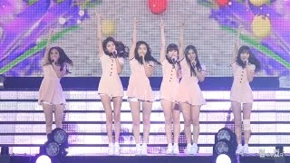 getlinkyoutube.com-20150913 여자친구(GFRIEND) 유리구슬(Glass Bead) @The K Festival 직캠 by 험하게컸다