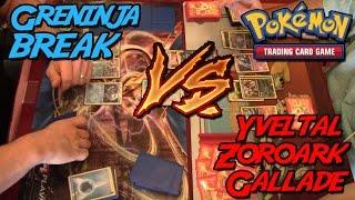 Pokemon TCG Matchup - Greninja BREAK vs Yveltal Gallade Zoroark (YGZ)