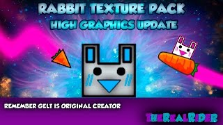 getlinkyoutube.com-Rabbit Texture Pack UPDATE 2.1 HIGH GRAPHICS - Geometry Dash 2.01 & 2.02