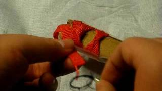 getlinkyoutube.com-Tsuka-maki End Knot: Ura