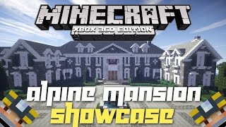 getlinkyoutube.com-Minecraft Xbox 360: Massive Realistic Mansion! (House Tours of Los Dangeles: The Alpine Mansion!)