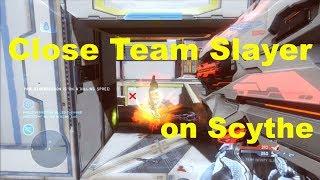 getlinkyoutube.com-Intense Team Slayer on Scythe - Halo 4 Genesis LIVE Gameplay + Tips