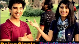 getlinkyoutube.com-Delhi Girls Talk About Being Single | Pickup Lines |