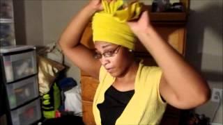 getlinkyoutube.com-How To Create a Crown Head Wrap