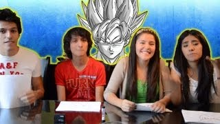 getlinkyoutube.com-Dibujando personajes de Dragon Ball Z | Reto con Que Pario