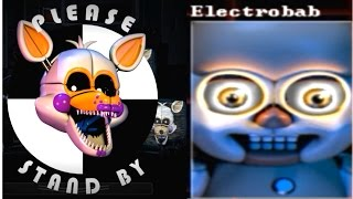 getlinkyoutube.com-LOLBIT & ELECTROBAB!! FNaF Sister Location NEW ANIMATRONICS
