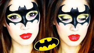 getlinkyoutube.com-Batgirl Halloween Makeup Tutorial 2015