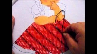 getlinkyoutube.com-puntada fantasia vestido niña sandia