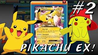 Pikachu EX Deck! #2 Pokemon Trading Card Game Online!