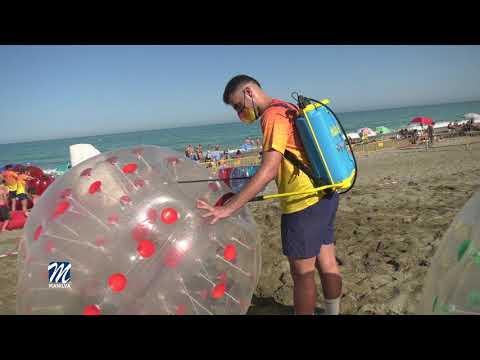 Actividades deportivas en la playa del 29 al 31 de julio