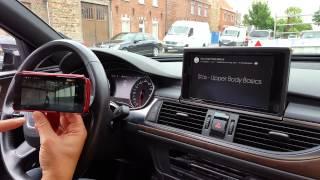 getlinkyoutube.com-Audi A6 4G MMI 3GP Video Casting with google Chromecast