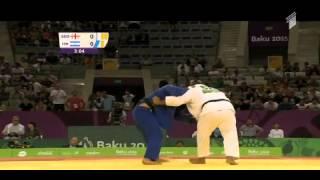 getlinkyoutube.com-Adam Okruashvili - Or Sasson Baku 2015 Final