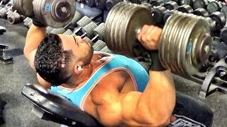 getlinkyoutube.com-Chest And Shoulders Workout with Jonathan Irizarry