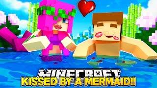 getlinkyoutube.com-LITTLE DONNY KISSES A MERMAID w/ MERMAID BABY LEAH!! Minecraft Custom Roleplay.