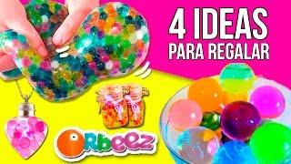 getlinkyoutube.com-4 IDEAS para REGALAR con ORBEEZ (amigo invisible) * Manualidades y Experimentos Orbeez en español