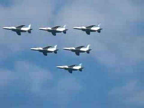 Blue Impulse @ Iruma 2007 (EX-V7 test shot)