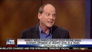 Gene Marks on Fox News discussing stock market gains 12/12/16