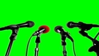 getlinkyoutube.com-Green Screen Press Recording/Microphones