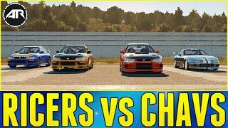 getlinkyoutube.com-Forza Horizon 2 Online : RICERS vs CHAVS!!!