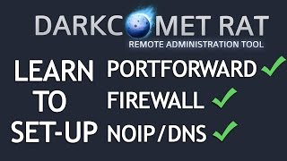 getlinkyoutube.com-DarkComet RAT 5.3.1 Tutorial [Portforwarding + Firewall + DNS] 2016