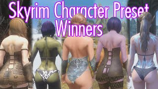 5 Bootiful Skyrim Presets - MARCH 16 - Skyrim Character Preset Contest