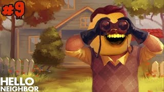 getlinkyoutube.com-Annoying Orange Plays - Hello Neighbor #9: Butt Magnet!