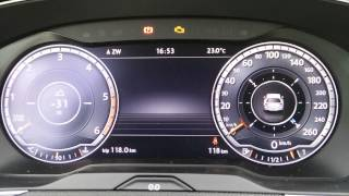 getlinkyoutube.com-Active Info Display - Review - Explained - 2015 VW Passat Variant b8