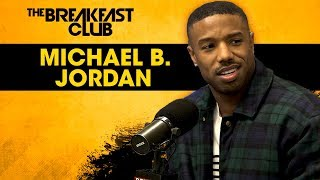 Michael B. Jordan Dodges Relationship Questions, Talks Life Post-Black Panther + More width=