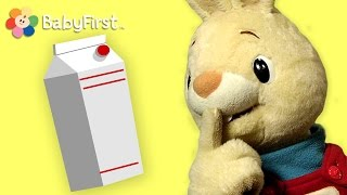getlinkyoutube.com-What is it? MILK | Harry the Bunny | BabyFirstTV