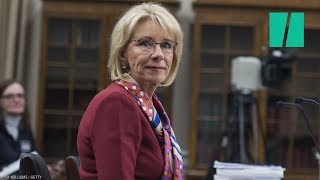 DeVos Finally Relents On LGBTQ Students