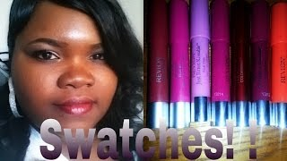 getlinkyoutube.com-Review & Lip Swatches: Revlon Colorburst Matte Balms & Just Bitten Kissable Balm Stains