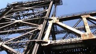 Canal Street Bridge - The Big Lift
