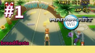 getlinkyoutube.com-Let's Play Mario Kart Wii - Time Trials (Unlocking Baby Luigi)
