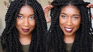 getlinkyoutube.com-How To Havana Marley Twist Like A PRO | Invisible Roots