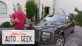 John Cena's Rolls Royce Phantom is the ultimate display of luxury - John Cena: Auto Geek