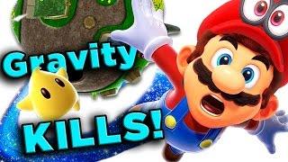 getlinkyoutube.com-Super Mario Galaxy's DEADLY Physics! | The SCIENCE! ...of Super Mario Galaxy