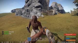getlinkyoutube.com-Rust Social Experiment - Giving a random player a gun